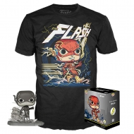 DC Comics - Set figurine et T-Shirt POP! & Tee Flash heo Exclusive