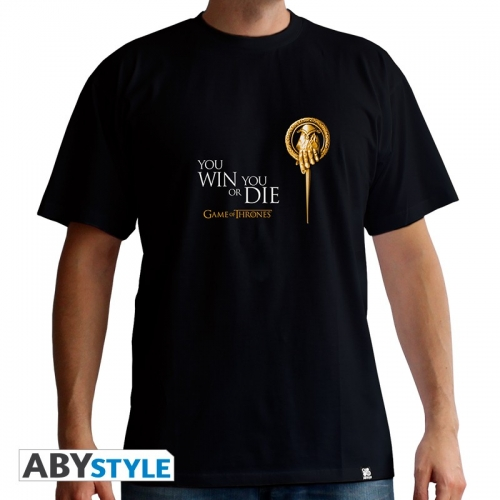 GAME OF THRONES - T-Shirt Main du Roi homme MC black