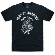 SONS OF ANARCHY - T-shirt Classic Logo Noir