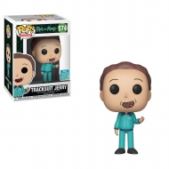 Rick et Morty - Figurine POP! Tracksuit Jerry SDCC Exclusive 9 cm