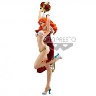 One Piece Stampede - Statuette Flag Diamond Ship Nami 25 cm