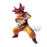 Dragon Ball GT - Statuette Blood of Saiyans Super Saiyan God Son Goku 17 cm