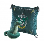 Harry Potter - Oreiller avec peluche House Mascot Slytherin