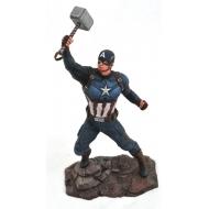 Marvel Avengers Endgame - Statuette Gallery Captain America 23 cm