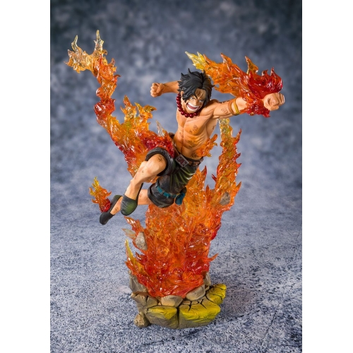 One Piece - Statuette FiguartsZERO Portgas D. Ace -Commander of the 2nd Division- 20 cm