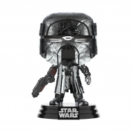 Star Wars - Figurine POP! KOR Blaster (Chrome) 9 cm