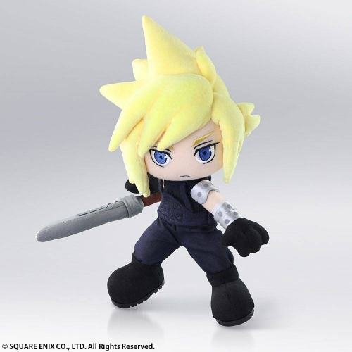 Final Fantasy VII - Peluche Action Doll Cloud Strife 30 cm