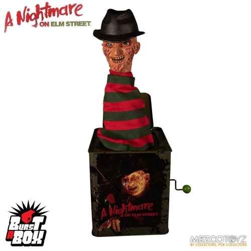 Les Griffes de la Nuit - Boite à musique Diable en boîte Burst-A-Box Freddy Krueger 36 cm