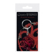 Game of Thrones - Porte-clés 3D Targaryen Sigil 6 cm