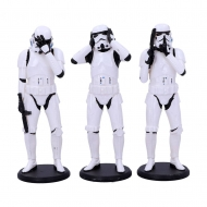 Original Stormtrooper - Pack 3 figurines Three Wise Stormtroopers 14 cm