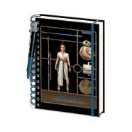 Star Wars Episode IX - Cahier à spirale A5 Airfix Rey