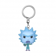 Rick & Morty - Porte-clés Pocket POP! Rick Clone 4 cm