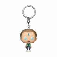 Rick & Morty - Porte-clés Pocket POP! Mort Cristal 4 cm