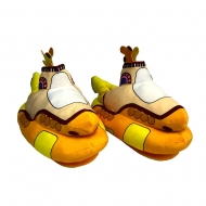 The Beatles - Chaussons Peluche Yellow Submarine 35 cm