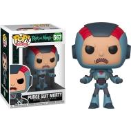 Rick et Morty - Figurine POP! Purge Suit Morty 9 cm