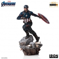 Avengers : Endgame - Statuette Deluxe BDS Art Scale 1/10 Captain America 21 cm