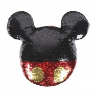 Disney - Coussin paillettes Mickey 30 x 30 cm
