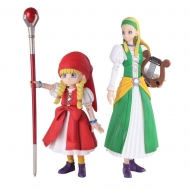 Dragon Quest XI Echoes of an Elusive Age - Figurines Bring Arts Veronica & Serena 9 - 14 cm