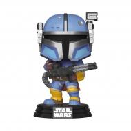 Star Wars The Mandalorian - Figurine POP! Heavy Infantry Mandaloria 9 cm
