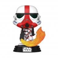 Star Wars The Mandalorian - Figurine POP! Incinerator Stormtrooper 9 cm