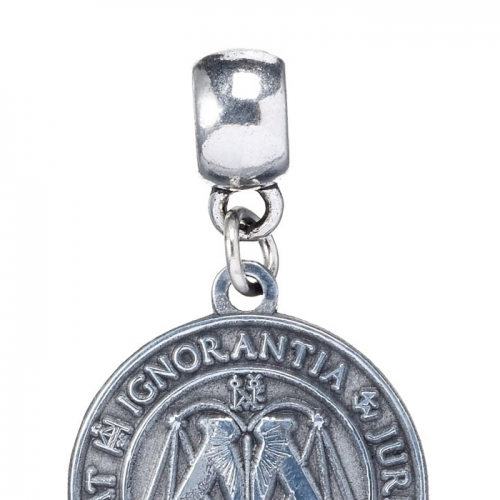 Harry Potter - Breloque plaqué argent Ministry of Magic