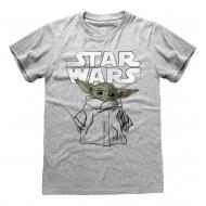Star Wars The Mandalorian - T-Shirt Child Sketch
