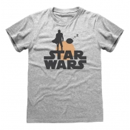 Star Wars The Mandalorian - T-Shirt Silhouette