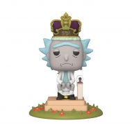 Rick & Morty - Figurine POP! sonore Rick on Toilet 9 cm
