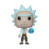 Rick & Morty - Figurine POP! Rick with Crystals 9 cm