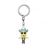 Rick & Morty - Porte-clés Pocket POP! Mr. Poopybutthole 4 cm