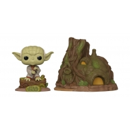 Star Wars - Figurine POP! Yoda's Hut Empire Strikes Back 40th Anniversary 9 cm