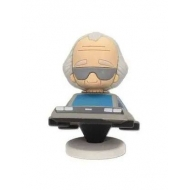 Retour vers le Futur - Figurine Pokis Doc Brown & DeLorean 6 cm