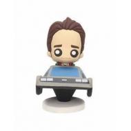 Retour vers le Futur - Figurine Pokis Marty & DeLorean 6 cm