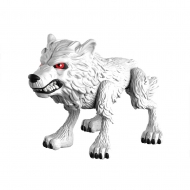 Game of Thrones - Figurine Ghost (Wolf) 8 cm