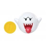 World of Nintendo - Figurine Boo avec pièce 6 cm