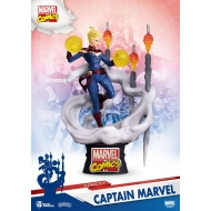 Marvel Comics - Diorama D-Stage Captain Marvel 16 cm