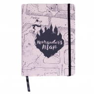 Harry Potter - Carnet de notes Premium A5 Marauder's Map