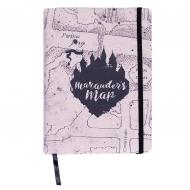 Harry Potter - Carnet de notes Premium A5 Marauder's Map
