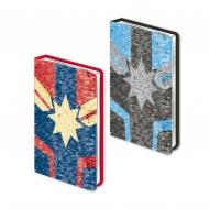 Marvel Captain - Carnet de notes paillettes Premium A5 Logo