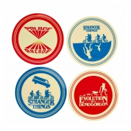 Stranger Things - Pack 4 plaques Silhouette