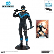 DC Comics - Figurine DC Rebirth Build A Nightwing (Better Than Batman) 18 cm