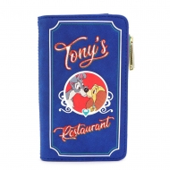 Disney - Porte-monnaie La Belle et le Clochard Tony's Menu By Loungefly