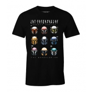 Star Wars The Mandalorian - T-Shirt Bounty Hunter Helmets