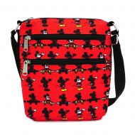 Disney - Sac bandoulière Mickey Parts AOP By Loungefly