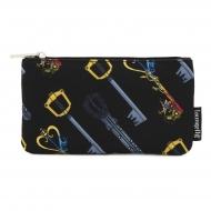 Disney - Sac cosmétique Kingdom Hearts Keys AOP By Loungefly