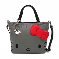 Hello Kitty - Sac à bandoulière Grey Kitty By Loungefly