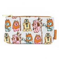 Star Wars - Sac cosmétique Pastel Ewoks AOP By Loungefly