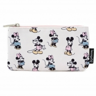 Disney - Sac cosmétique Pastel Minnie Mickey AOP By Loungefly