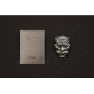 Game of Thrones - Pin's et plaque Night King