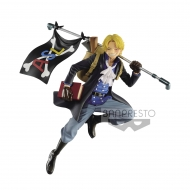 One Piece - Statuette Three Brothers Sabo 10 cm